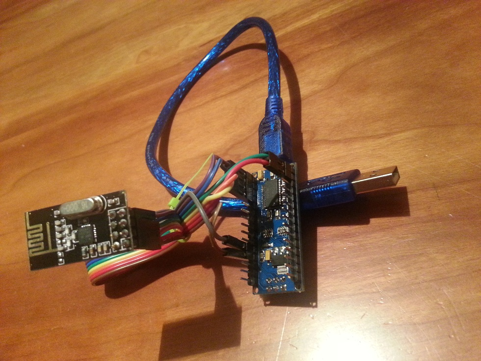 Connectingradiomodule arduino sensor plugin