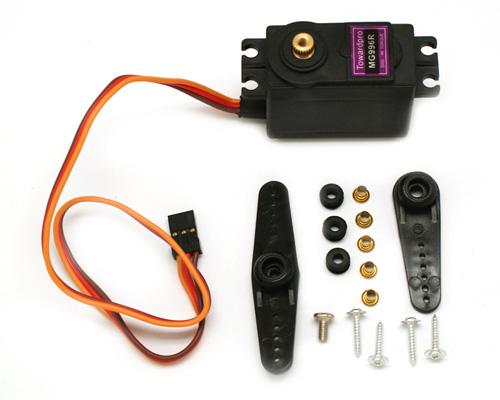 Servoactuator arduino sensor plugin